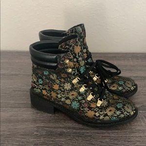 Sam Edelman lace up boots